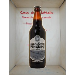 Bière brune March of The Penguins 50cl
