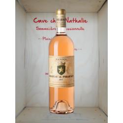 Bandol rosé - Château de Pibarnon
