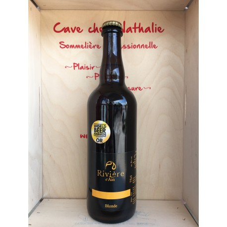 Bière Blonde Rivière d'Ain 75 cl