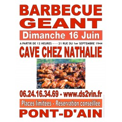 Inscription Barbecue Géant