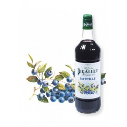 Sirop de Myrtille - Bigallet - 1 litre