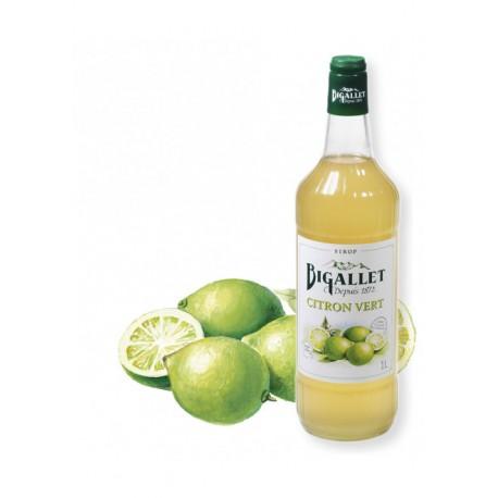 Sirop Citron Vert - Bigallet - 1 litre