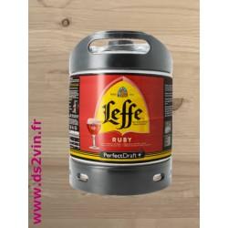 Fut de bière Ruby Leffe 6L
